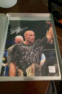 Georges St-Pierre Signed Photo