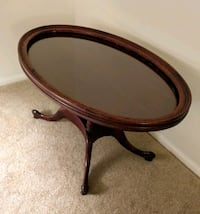 Vintage Mahogany Oval Table Manchester Township, 08759