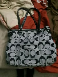 gray and black Coach tote bag Sand Springs, 74063
