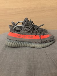 pair of gray Adidas Yeezy Boost 350 V2 New York, 10128