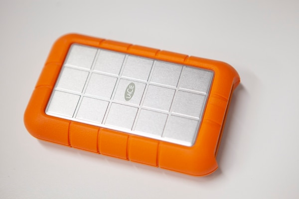 Lacie Rugged All Terrain 1tb Firewire 800 400 Usb 2 0