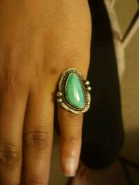 Turquoise silver ring Colorado Springs, 80916