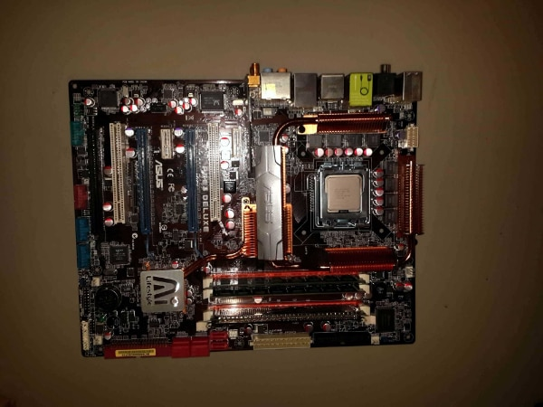 Asus P5E3 Deluxe Motherboard Drivers Mac