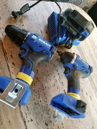 Brushless impact and drill Gibbons, T0A