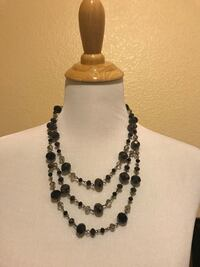 3 layer beautiful  necklace