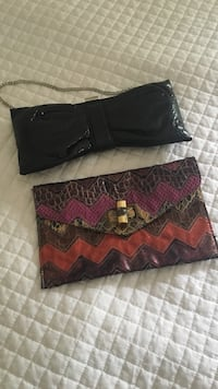ALDO clutches like new  Mississauga, L5W