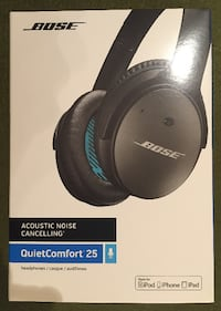 35% OFF NEW BOSE Quiet Comfort 25 Noise Cancelling Ear Phones Toronto