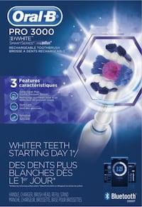 Oral B PRO 3000 Rechargeable Toothbrush Richmond Hill, L4C 0Z5