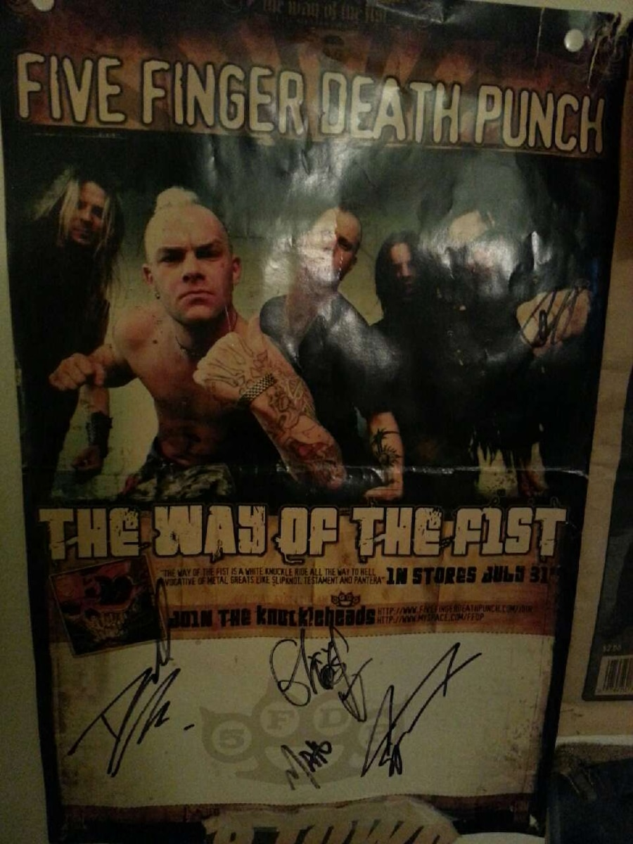Five Finger Death Punch The Way Of The Fist Album Cover letgo - Five fi...