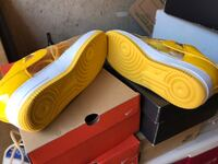 Nike Air Force I Yellow Clear men's 10