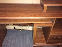 Computer desk with drawers-$65 obo