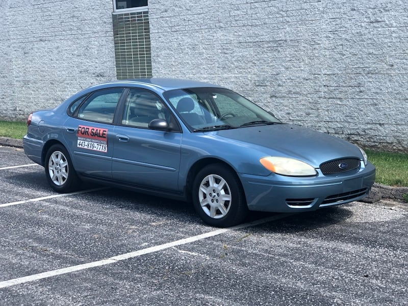 MD INSPECTED Ford Taurus 3