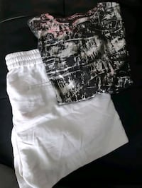 BNWT Large Joe Fresh Top and Shorts