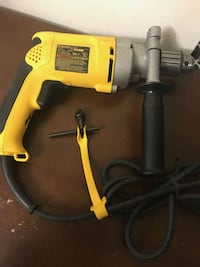 yellow and black corded power tool 5 mi