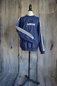 Vintage Adidas Pullover Raincoat Size M Barrie, L4N