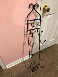Large Wrought Iron Plate Holder/Wine/Bathroom Towel Rack  Cibolo, 78108