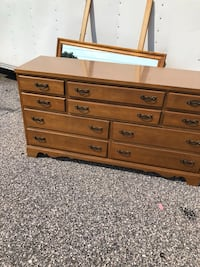 """Dressor with 10 drawers and mirror 58"""" wide Taneytown, 21787"""