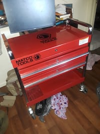 Matco Two Drawer Service Cart null