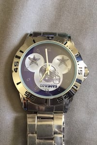Cowboys Mickey Mouse ears watch.