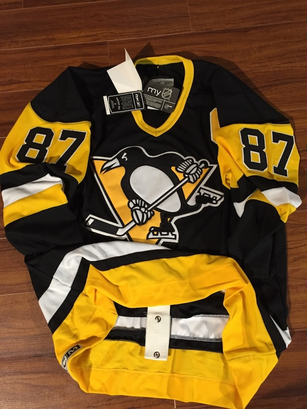 reputable site eacb3 4cf4b Sidney Crosby #87 Vintage CCM Classic Hockey Jersey NEW