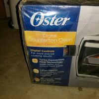 Counter top oven / toaster