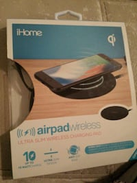 Brand new Ihome airpad wireless charging pad  Abbotsford, V2T 5R1