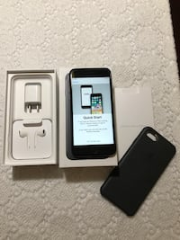 Iphone 7 black with box