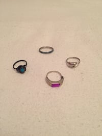 Assorted rings (non-valuable, .25 cents each) Ottawa, K1K