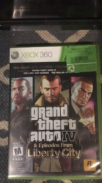 Xbox 360 Grand Theft Auto 5 case Edmonton, T6L