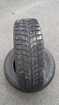 two black vehicle tire set MONTREAL