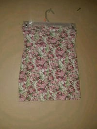women's white and pink floral pencil skirt Garden Grove, 92840