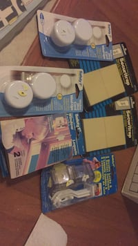 New safety first items and leviton safety baby items.  Only $10 for all. Laval, H7Y 2C1