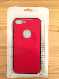 Tempered glass phone case for i Phone 6+ and 7+ plus (Brand New)