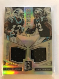 2016 SPECTRA SYNCED DEVIN FUNCHESS/KELVIN BENJAMIN 092/199 Front Royal, 22630