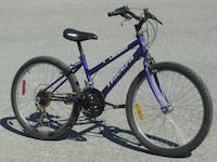 """YOUTH SIZE FEMALE'S 24"""" TRIUMPH DASER 15 SPEED MTB ONLY $75.00! Mississauga"""