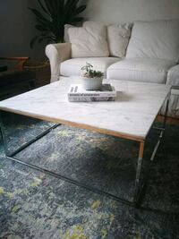 white and brown wooden table Calgary, T3C 0Y1