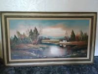 Heinz Ross oil painting signed by the artist Brooksville, 34601