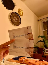 Two $50 Boll & Branch gift cards Washington, 20003
