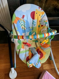 Bouncy chair witj free  swing Edmonton, T5T 6R1
