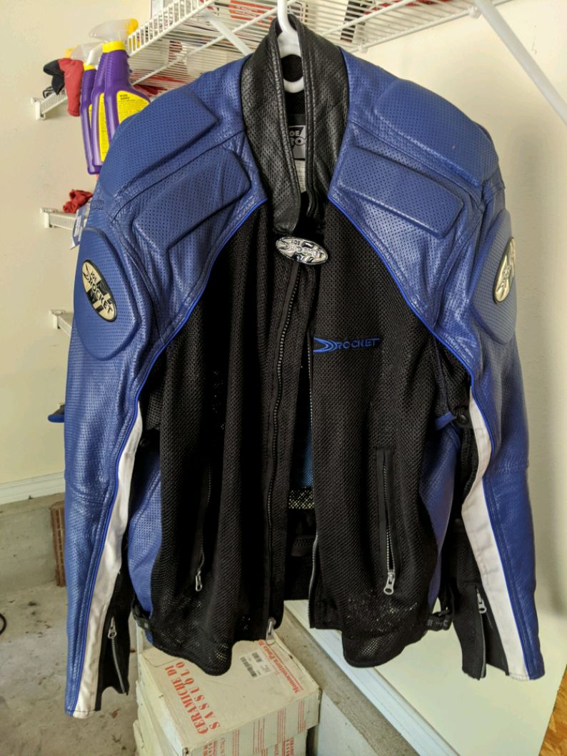 Photo Joe Rocket riding jacket