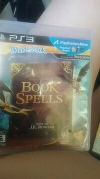 Book of spells  from jk rowling ps3 game  Surrey, V3V 7C1