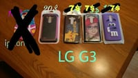 four assorted color iPhone cases Repentigny, J5Y 3H7