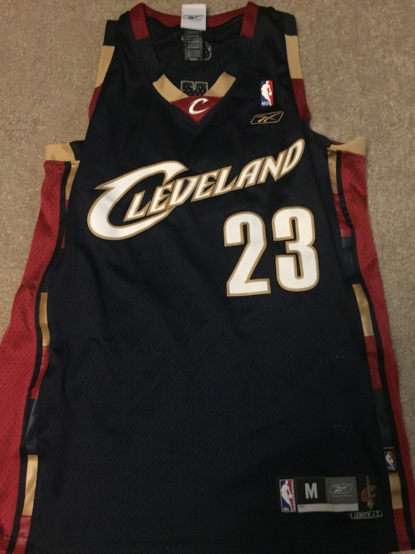 buy popular 333ee df00e lebron james #23 cleveland cavaliers nba basketball jersey