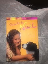 "American girl book "" Thanks to Nicki"" Jessup, 20794"