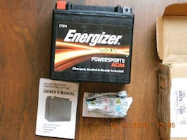 Brand New Motorcycle Battery