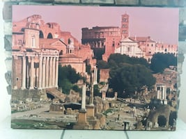 Large canvas print Rome painting