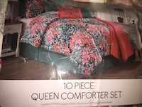 Queen comforter set with curtains Alexandria, 22311