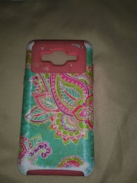 teal and pink foliage paisley smartphone case Gainesville, 76240