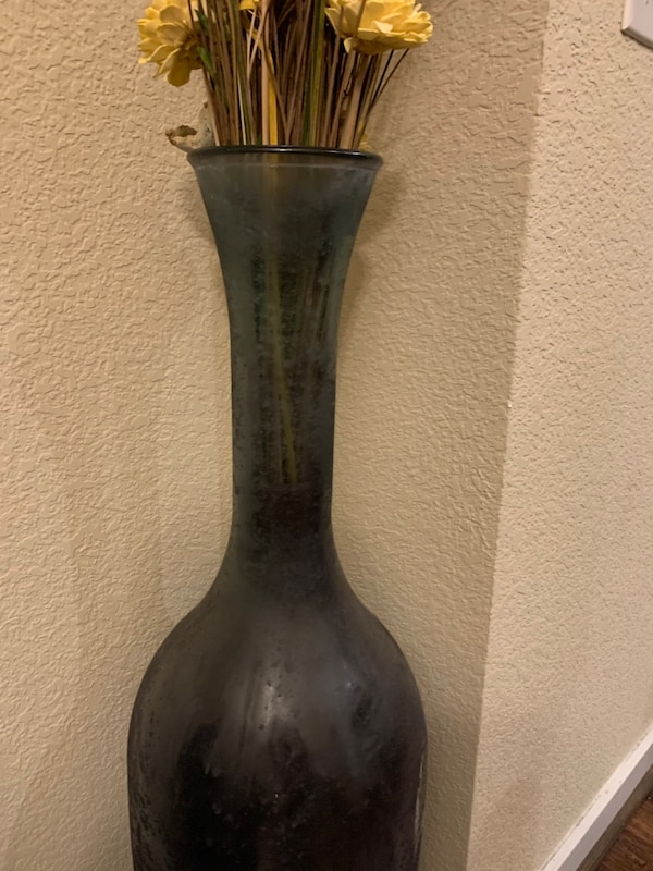 Tall Glass Vase 3