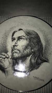Portrait of Christ China plate Omaha, 68108
